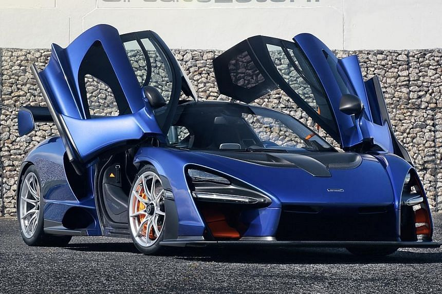 The McLaren Senna is a car which shines on the track and is not a trophy vehicle to be parked along other prized models.