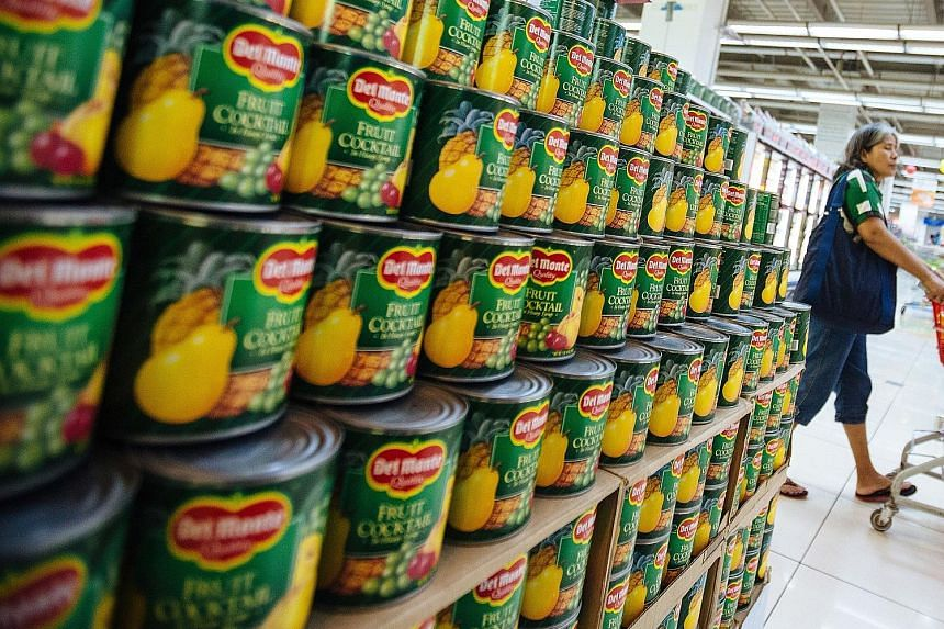 For the full year, Del Monte Pacific posted a net loss of US$28.2 million, reversing from a net profit of US$24.4 million, due to the one-off expenses incurred in DMFI's two plant closures, and the write-off of deferred tax assets due to a change in
