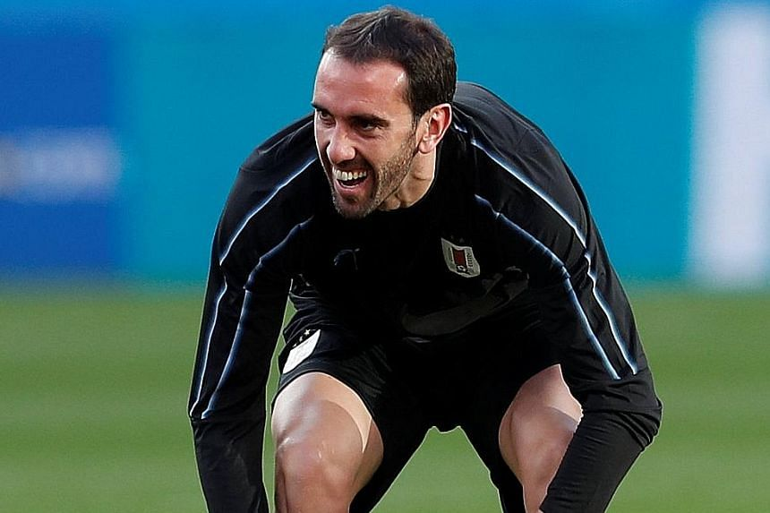 Diego Godin, who plays for Atletico Madrid, will be up against Cristiano Ronaldo of Real Madrid today when his Uruguay side take on Portugal in the last 16. Uruguay are the only team who have yet to concede a goal in Russia, while Ronaldo has already scor