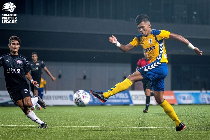 Tampines Rovers' Khairul Amri in action during the Singapore Premier League match against Balestier Khalsa at Toa Payoh Stadium on June 30, 2018.