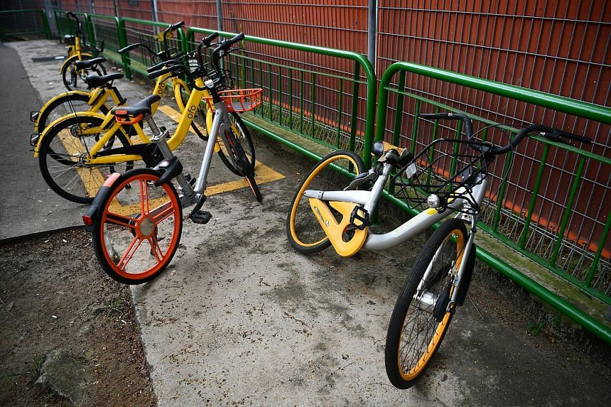 Anywheel, Mobike, ofo and SG Bike have submitted their applications to LTA for a licence to operate dockless bicycle rental services.