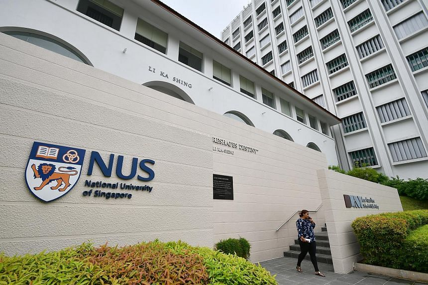 The Li Ka Shing Building on NUS Bukit Timah campus. An international panel agreed that universities here are on the right track in introducing more experiential learning.