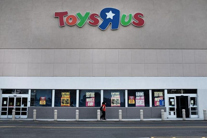 A Toys R Us store in Brooklyn, New York City, on June 8, 2018.  All 735 Toys R Us stores in America are set to close by the end of June 2018.