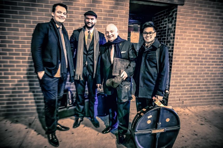 The James Morrison Quartet will perform in Singapore next week.