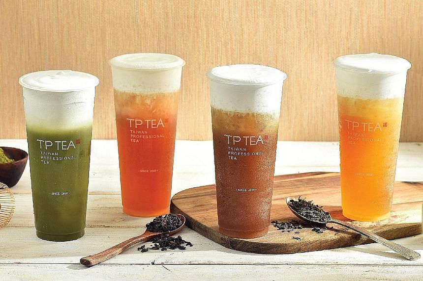 Taiwanese brand TP Tea's first Singapore outlet is at the departure hall at Changi Airport Terminal 2 and it opens 24 hours.