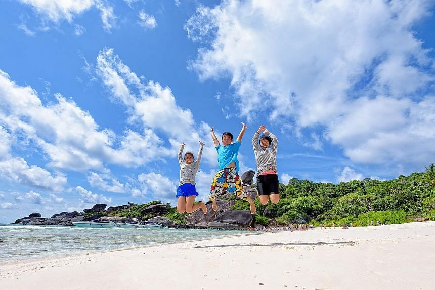 Keep teens happy by involving them in the planning of vacations.