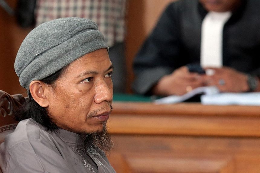 Aman Abdurrahman has decided not to appeal against the death sentence, meaning he could face the firing squad soon. Top: The radical cleric's home in Licin village in Sumedang, a two-hour drive from Bandung. His wife and children still live there.