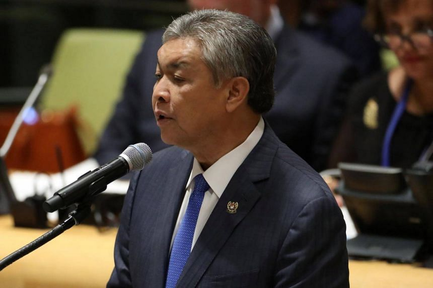 Umno's acting president Ahmad Zahid Hamidi had announced that the bank accounts of the party's headquarters and Selangor branch had been frozen by the Malaysian Anti-Corruption Commission.