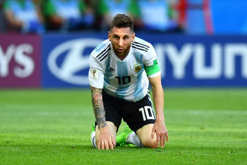 Five-time World Player of the Year Lionel Messi only scored once in Russia and has yet to net in the knockout stages of a World Cup.