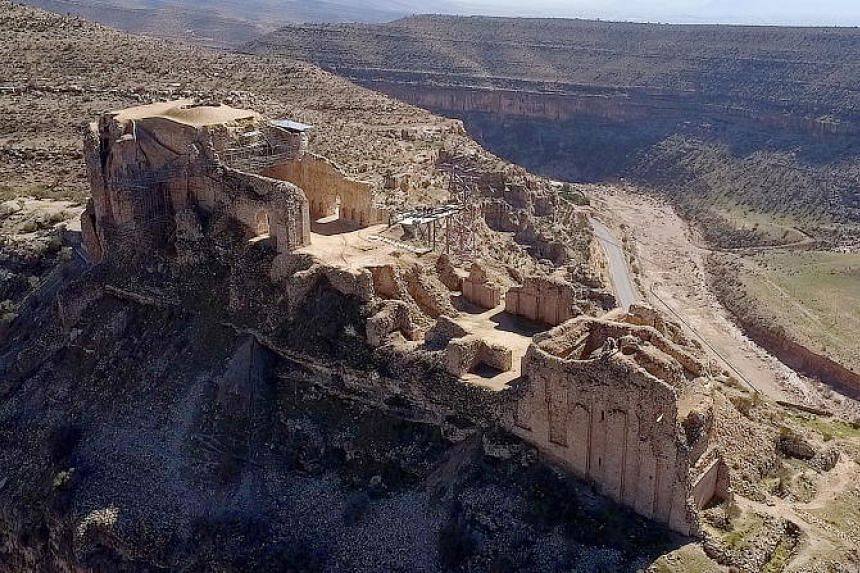 Qal'eh Dokhtar in the Sassanid Archaeological Landscape of Fars region, Iran.