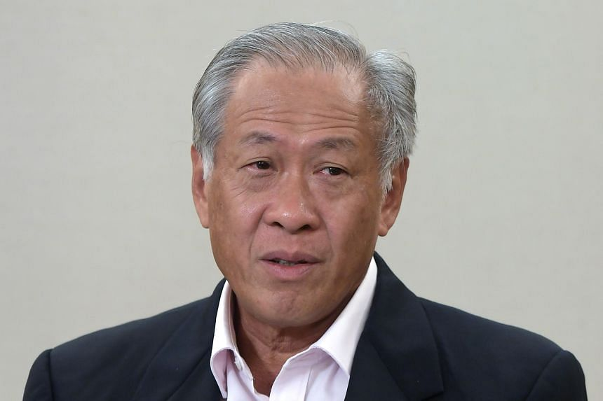 DEFENCE MINISTER NG ENG HEN.