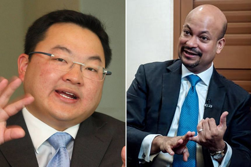 The seeds for 1MDB were sown in 2009 when Mr Low Taek Jho (left) mooted a plan to create a sovereign wealth fund. 1MDB chief executive Arul Kanda Kandasamy (right) was sacked on Thursday.