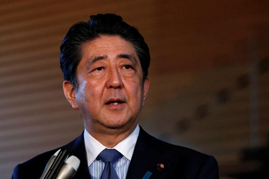 Japanese PM Shinzo Abe urged Asia-Pacific countries to further a free, fair and rules-based economic order, at an RCEP meeting in Tokyo on July 1, 2018.