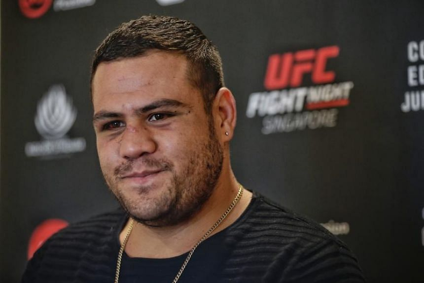"""Tai """"Bam Bam"""" Tuivasa is currently UFC's ninth-ranked heavyweight, and the youngest in the top 10."""
