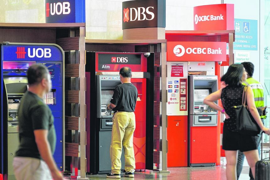 The three large-cap banking stocks all ended the month with their market capitalisation lower compared with May: DBS Group shed $4.51 billion; OCBC Bank, $3.77 billion; and UOB, $2.07 billion.