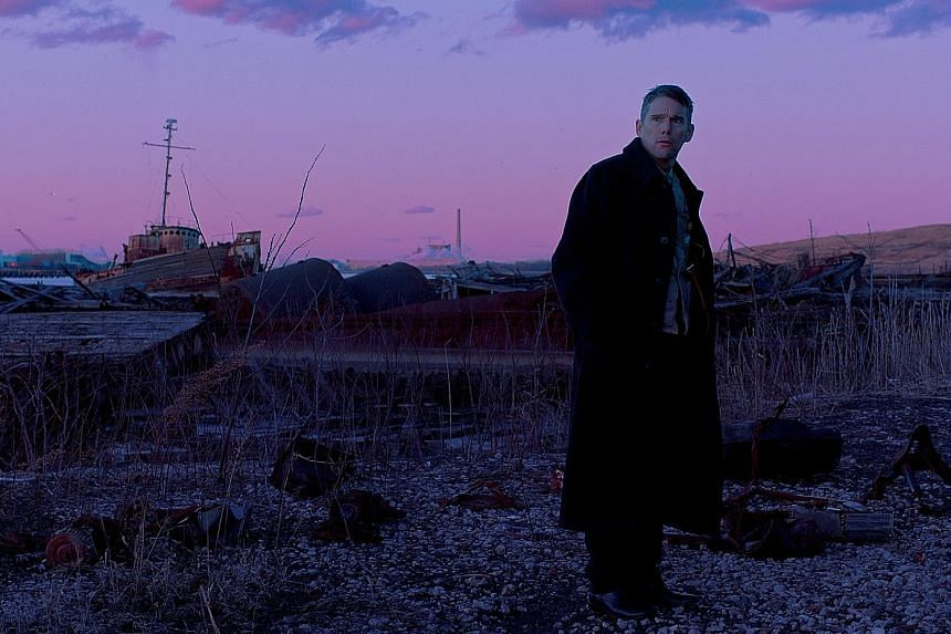 First Reformed, starring Ethan Hawke (above)