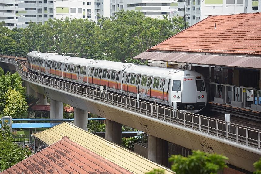 SMRT Trains said more than half of every dollar it collects from commuter fare revenue now goes to rail maintenance-related expenditure.