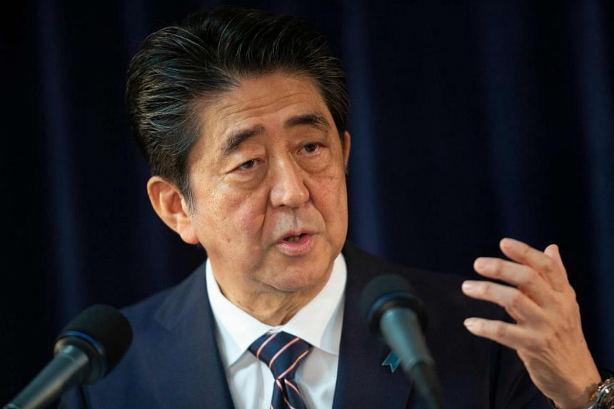 Japanese Prime Minister Shinzo Abe urged Asia-Pacific countries at the Regional Comprehensive Economic Partnership in Tokyo to further the free, fair and rules-based economic order, on July 1, 2018.