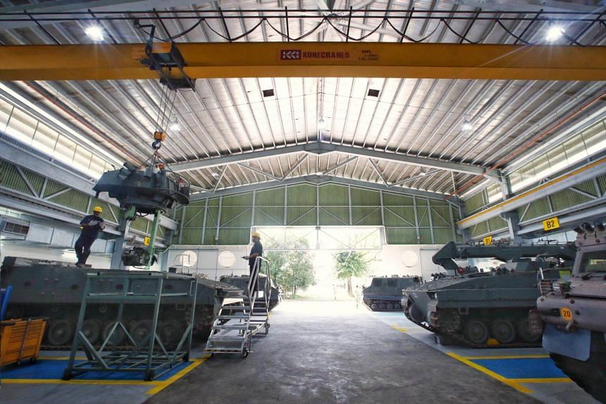 Launched in March, the Integrated Forward Maintenance Hub reduces the time needed for vehicles repairs by 50 per cent and allows staff from a contractor to work in camp.