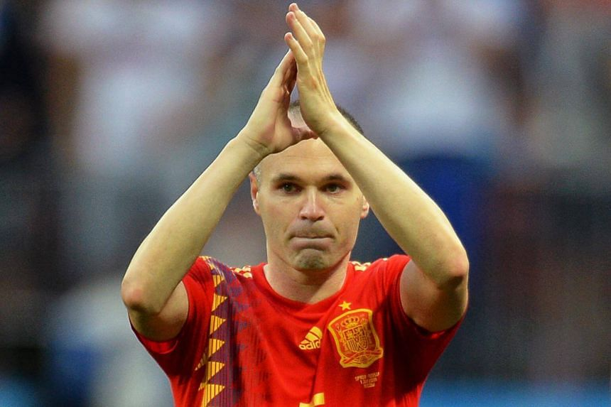 Eight years ago, Iniesta scored the goal that gave Spain their first ever World Cup in South Africa. The Barcelona great is joining Japanese club Vissel Kobe next season.