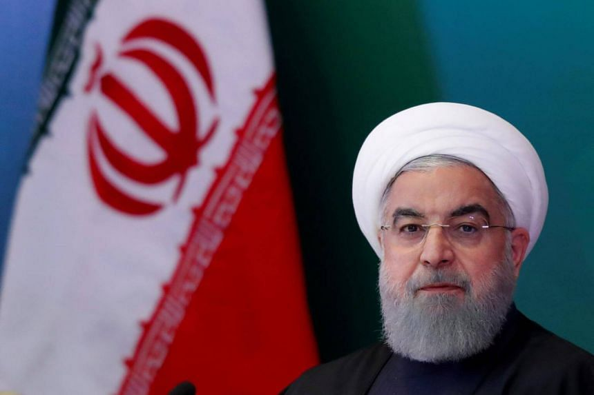 Iranian President Hassan Rouhani kicks off his two-day visit to Switzerland to discuss the saving of the Iran nuclear deal, on July 2, 2018.