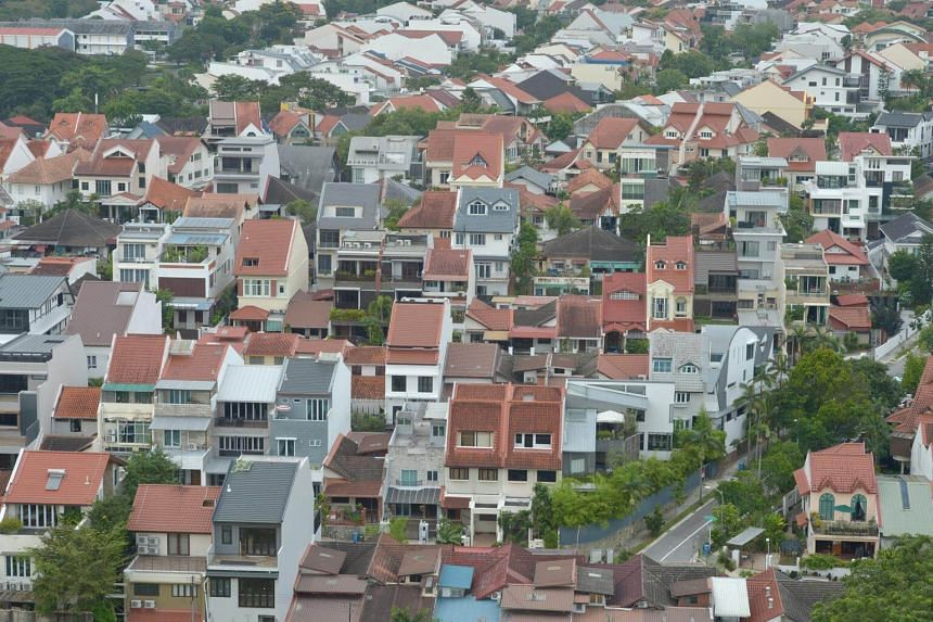 The quarter-on-quarter increase in the second quarter was led by a 3.8 per cent rise in the prices of landed homes.