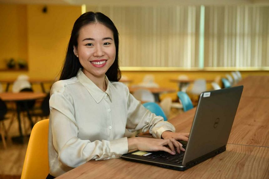 Ms Sheam feels that the postgraduate programme served as a good foundation to jump-start her IT career.