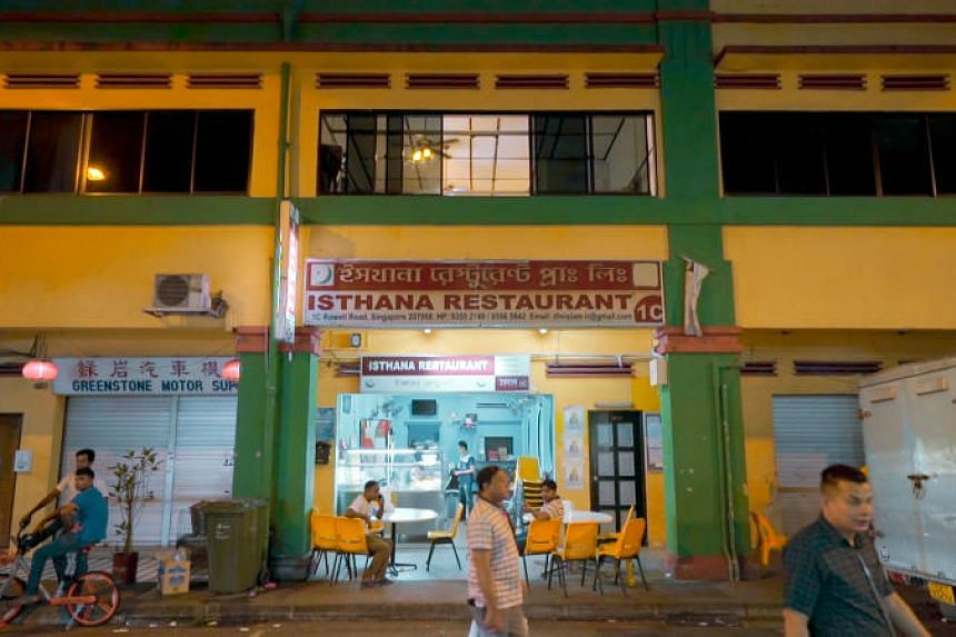 The second floor of a shophouse at Rowell Road is a safe haven for Singapore's migrant workers.