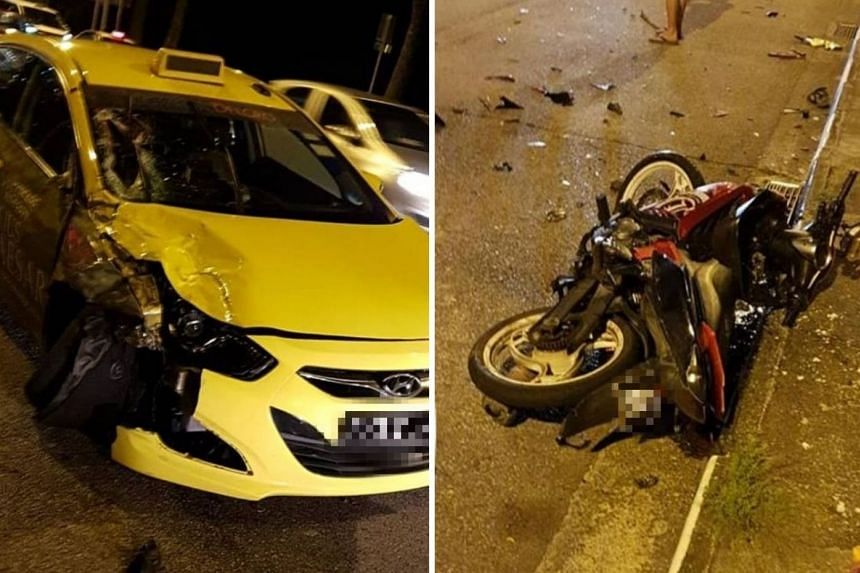 The male motorcyclist's hand was severed, and he is believed to have suffered spinal injuries, while the other man suffered major trauma injuries.