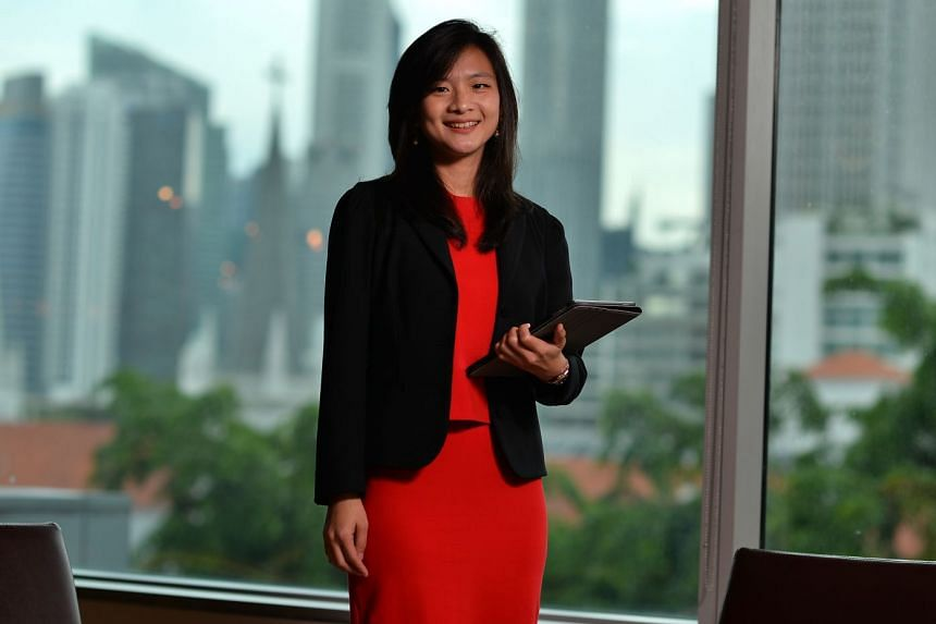Ms Tay is constantly challenged in her MBA programme to discover new ideas and ways to navigate the world around her.