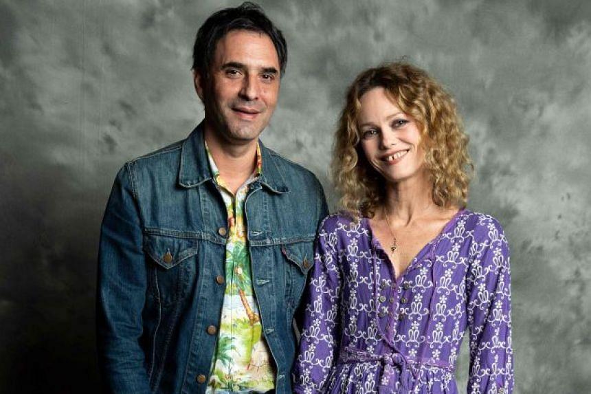 French director Samuel Benchetrit and actress Vanessa Paradis tied the knot last Saturday.