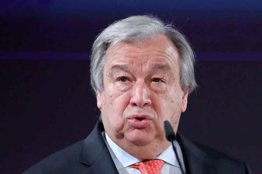 """UN Secretary-General Antonio Guterres described the situation for the persecuted Muslim minority as """"a humanitarian and human rights nightmare""""."""