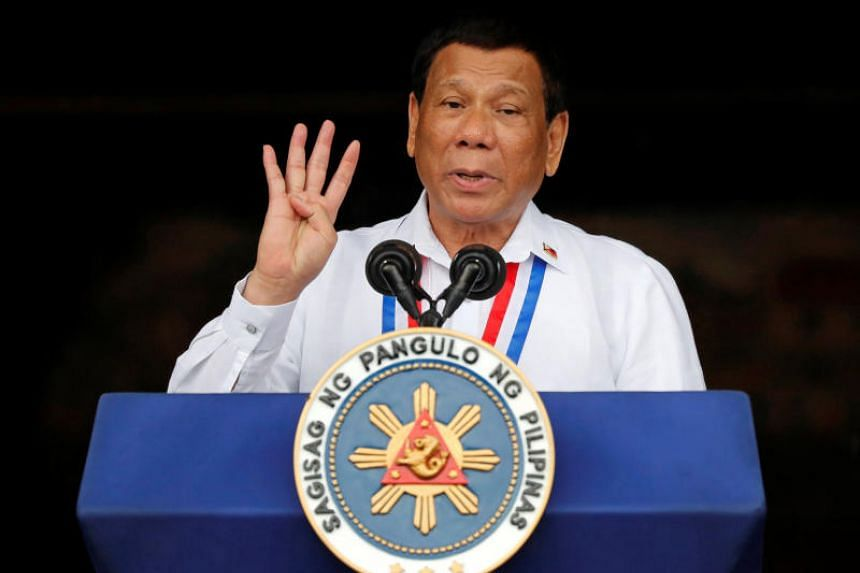 Philippine President Rodrigo Duterte has repeatedly made use of official occasions to mock Catholic religious beliefs.