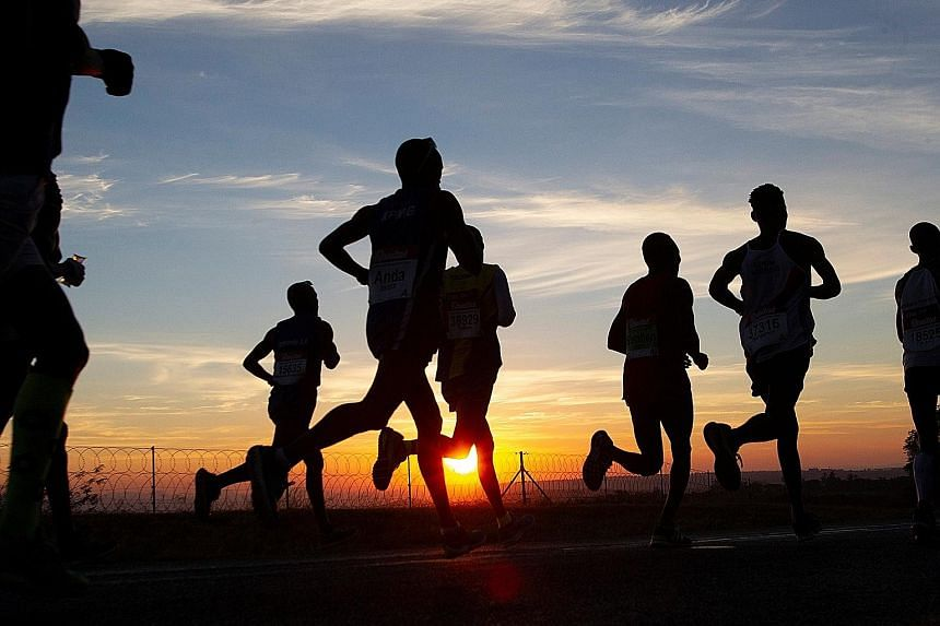 """Recent studies show why going for a run can help one regain a sense of control. An experiment from West Michigan University shows that running quickly for half an hour improves """"cortical flicker frequency"""" threshold. This is linked to the ability to"""