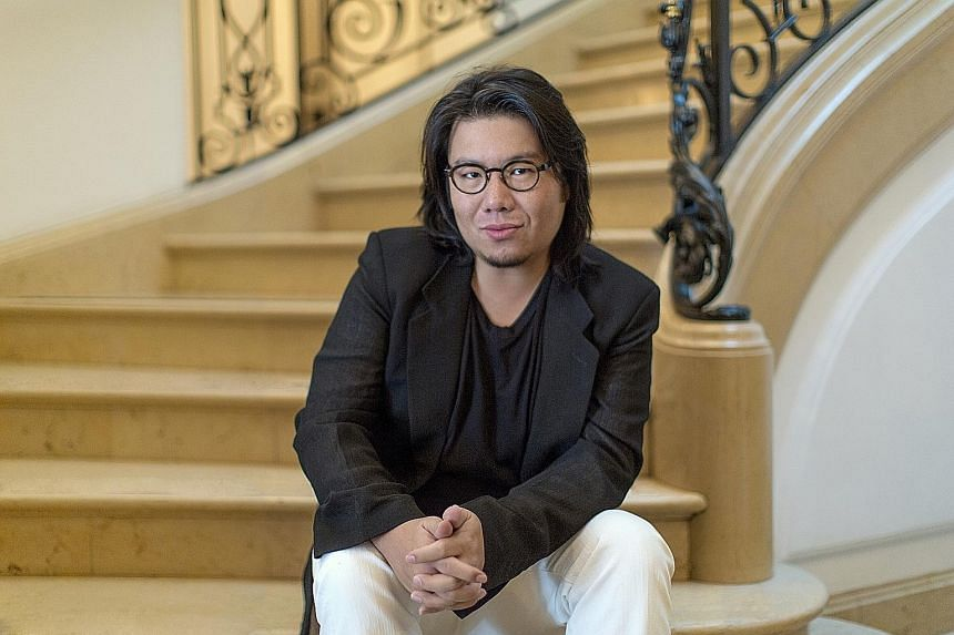 Crazy Rich Asians, written by Kevin Kwan (above), reappeared on The Straits Times bestseller list for fiction last July.