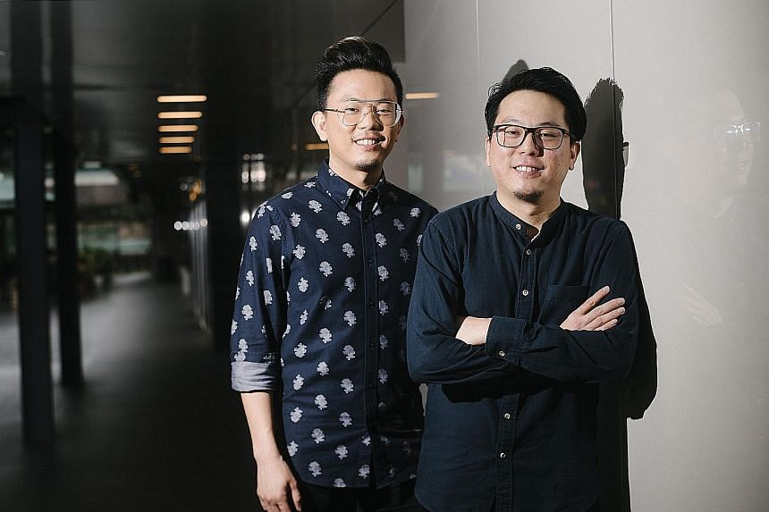For their new opera company, The Opera People, brothers David Charles Tay (left) and Jonathan Charles Tay are staging an updated re-creation of Mozart's Il Re Pastore (The Shepherd King).