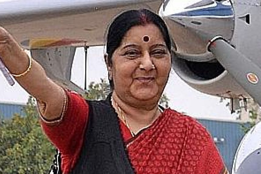 External Affairs Minister Sushma Swaraj has been subjected to abusive criticism from Hindu right-wingers.