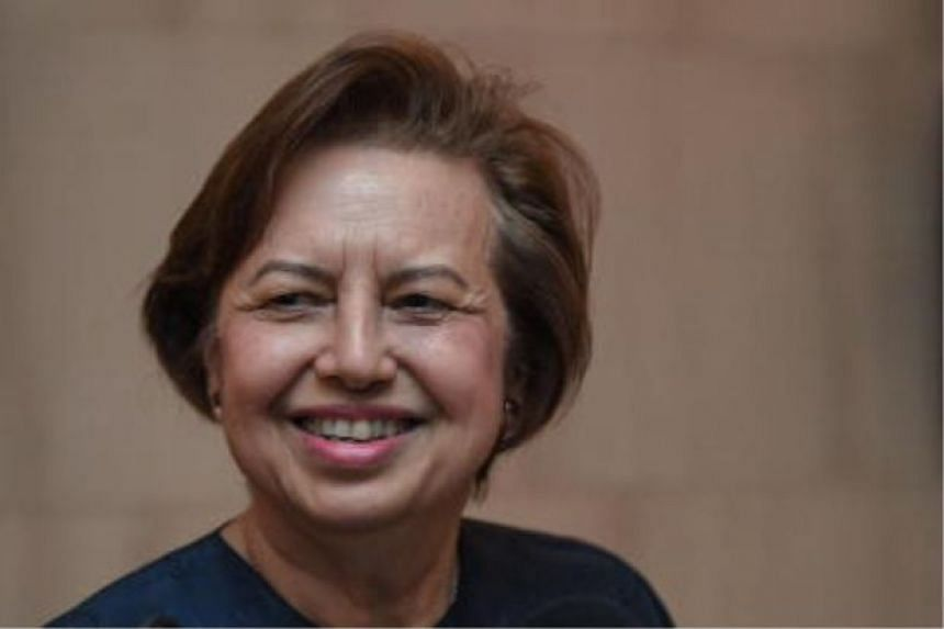 Former Malaysian prime minister Najib Razak reportedly claimed that Dr Zeti Akhtar Aziz (above) was aware of the funds in his bank account prior to the 13th General Election, but did not raise questions about it.
