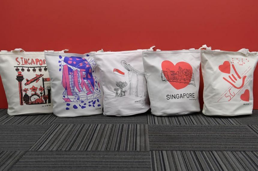 Some of the designs for this year's National Day Parade funpacks.