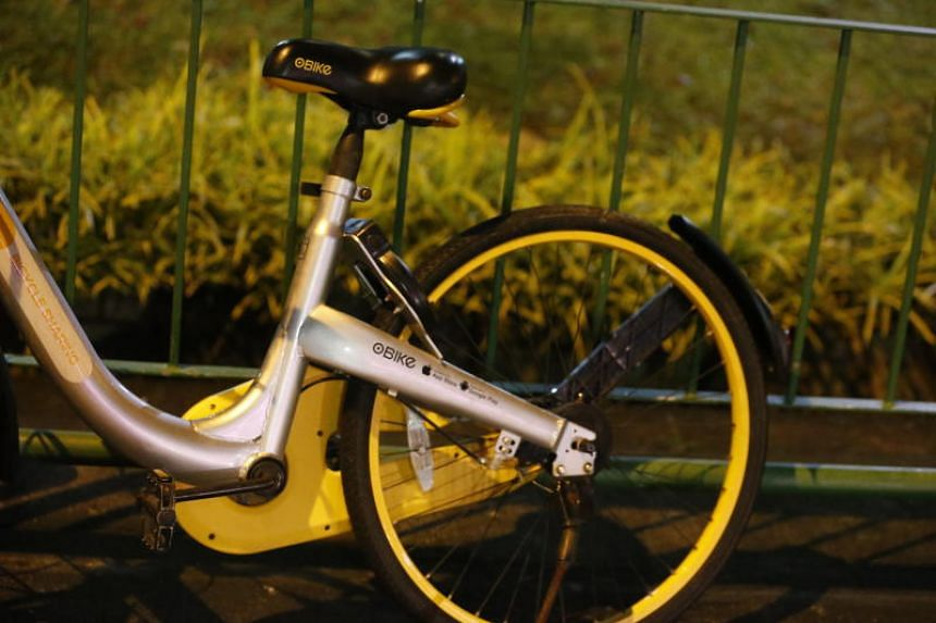 Users could face criminal charges if a police report is filed against him or her for taking an oBike home.