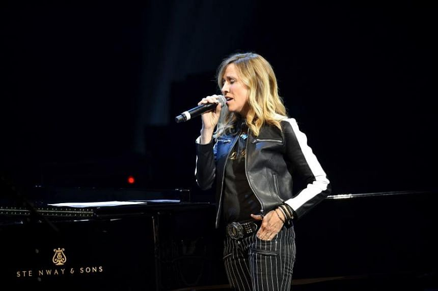 Sheryl Crow performs onstage during the 5th Annual Light Up the Blues Concert an Evening of Music to Benefit Autism Speaks at Dolby Theatre on April 21, 2018 in Hollywood, California.