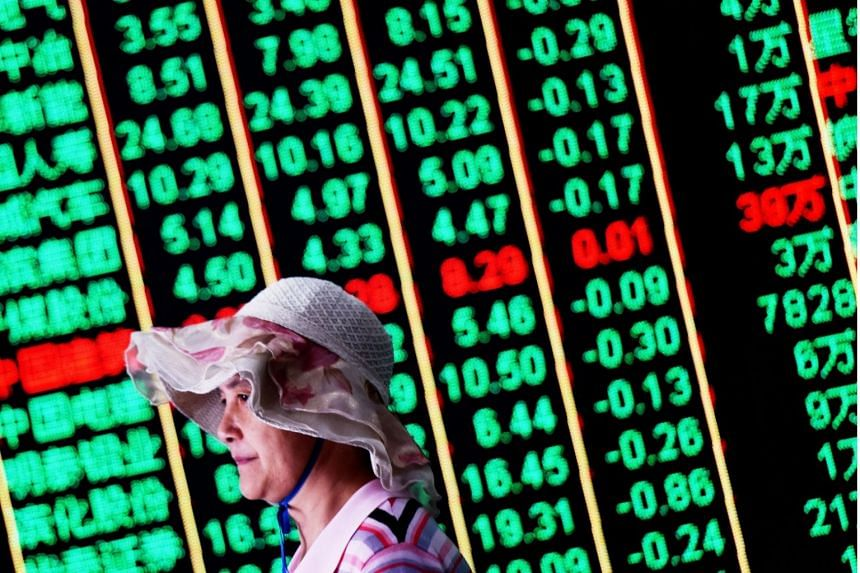 The Hang Seng Index shed 3.04 per cent, or 880.77 points, to 28,074.34.