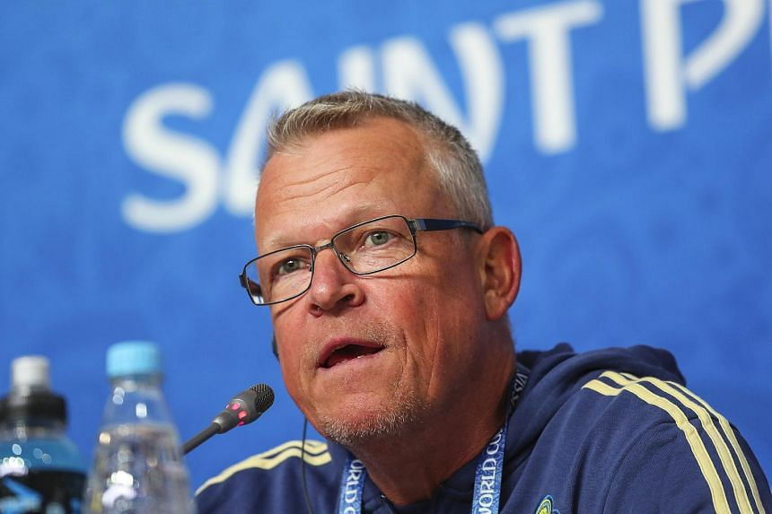 Although no-frills coach Janne Andersson is not a big name, he is credited for creating Sweden's collective team spirit.