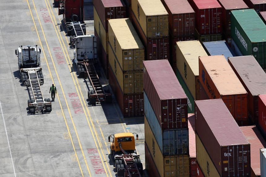 Shipping containers at Wando Welch Terminal in South Carolina, US. China's exports to the US rose 5.4 per cent from a year earlier compared with 19.3 per cent for same period in 2017.