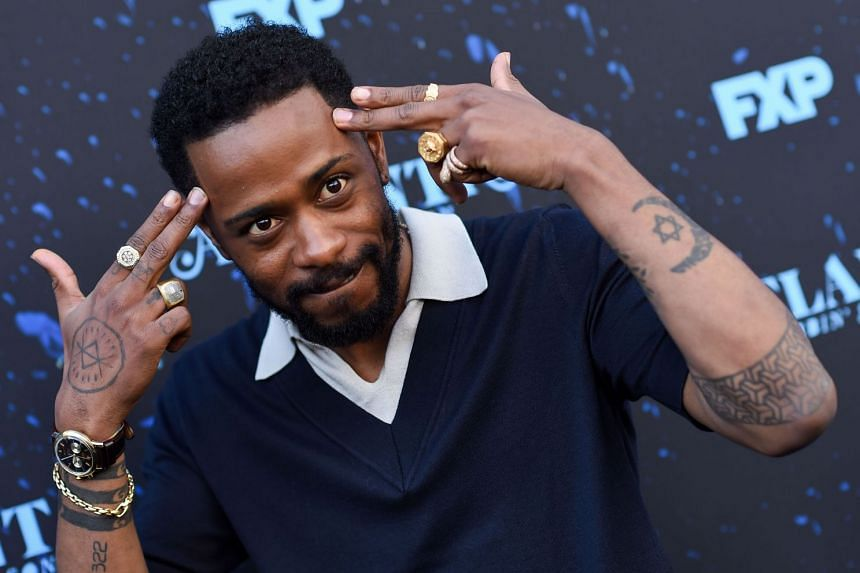 Actor Lakeith Stanfield attending a red carpet event at the Television Academy, on June 8, 2018.
