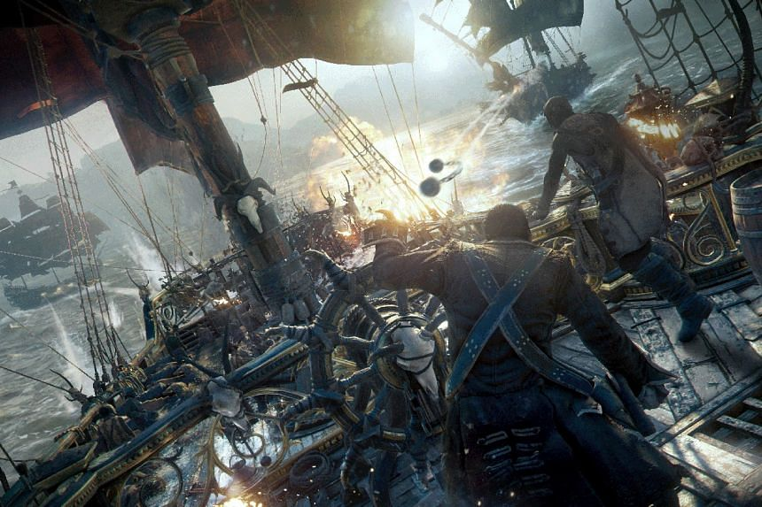 Made by Ubisoft Singapore, Skull & Bones will be released sometime between 2019 and 2020. PHOTO: UBISOFT