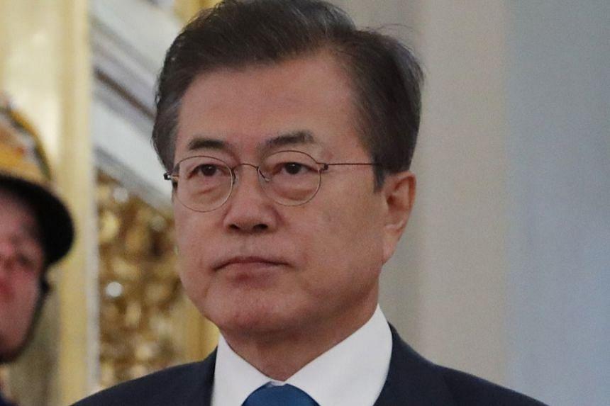 Mr Moon Jae-in