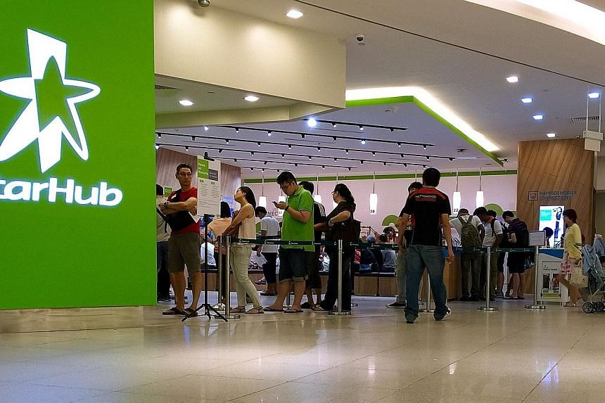 StarHub's earnings per share probably slumped 38 per cent to three cents in the quarter ended June, according to the average analyst estimate. Still, at least four brokerages have upgraded the stock over the past month. Incoming CEO Peter Kaliaropoul