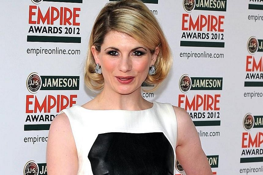 Actress Jodie Whittaker is the first female in the lead role of Doctor Who.
