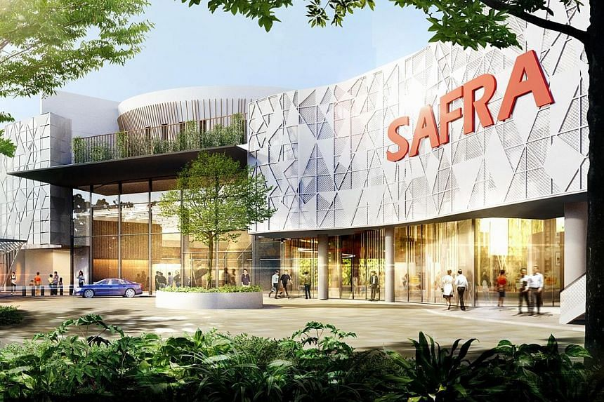 An artist's impression of the revamped Safra Mount Faber, which will have new facilities such as a dedicated co-working space.